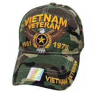 Vietnam Veteran Baseball Cap Hat Camo Camouflage